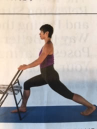 chair lunge